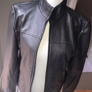 Exclusively for You Lord+Taylor Leather jacket